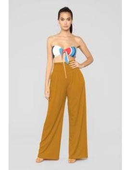 You're Like A Party Pants   Mustard by Fashion Nova