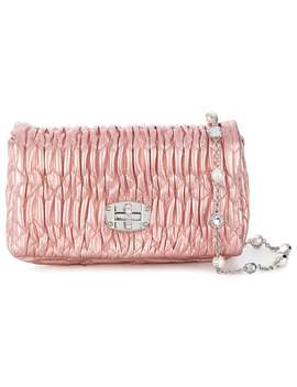 Miu Miuembellished Crossbody Baghome Women Miu Miu Bags Messenger & Crossbody Bags by Miu Miu