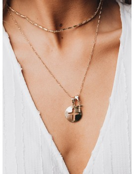 Minc Collections Sunlight Necklace Gold by Minc Collections