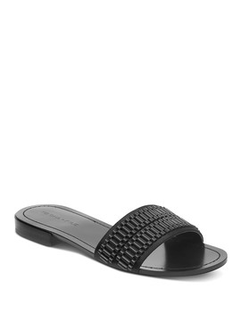 Women's Kennedy Embellished Slide Sandals  by Kendall And Kylie