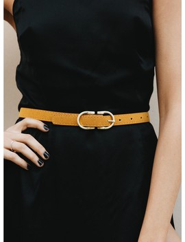 Dakala Belt Mustard by Princess Polly