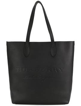 Burberry Embossed Leather Totehome Men Burberry Bags Tote Bags by Burberry