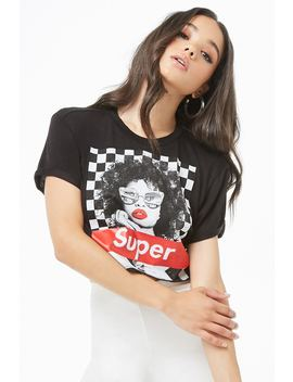 Super Cropped Graphic Tee by Forever 21