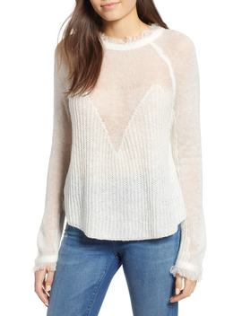 Fringed Sweater by Moon River