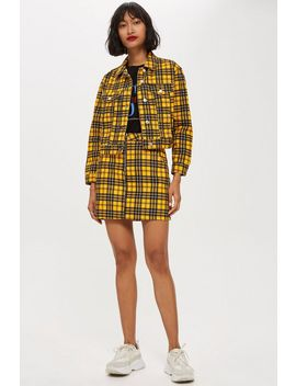 Yellow Check Co Ord Set by Topshop