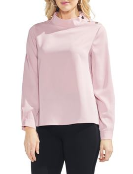 Snap Shoulder Top by Vince Camuto