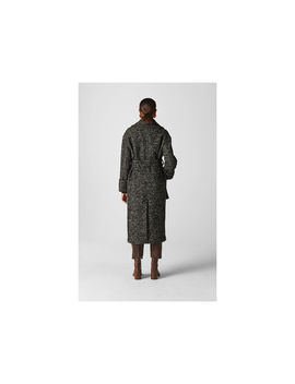 Leila Turn Back Cuff Coat by Whistles
