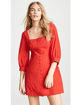 Victoria Button Front Dress by Minkpink