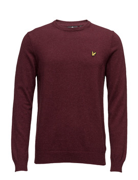 Crew Neck Cotton Merino 12gg Jumper by Lyle & Scott