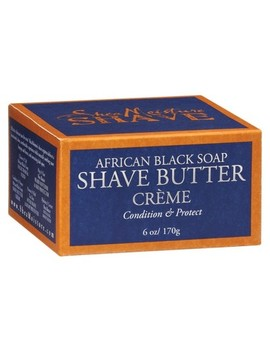 Shea Moisture Shave African Black Soap Shave Butter Crème   6 Oz by Shop All Shea Moisture