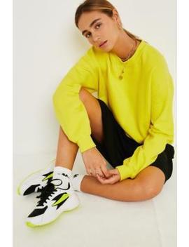 Uo Fluoro Sweatshirt by Urban Outfitters