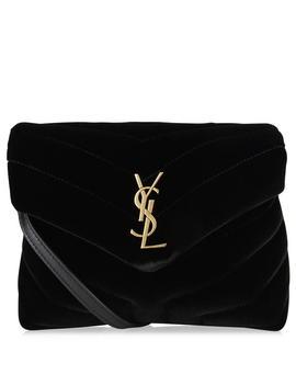 Velvet Lou Lou Cross Body Bag by Saint Laurent