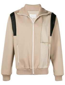Maison Margielafront Zip Retro Jackethome Men Maison Margiela Clothing Lightweight Jackets by Maison Margiela
