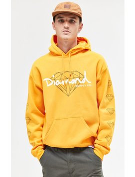 Brilliant Script Pullover Hoodie by Diamond Supply Co