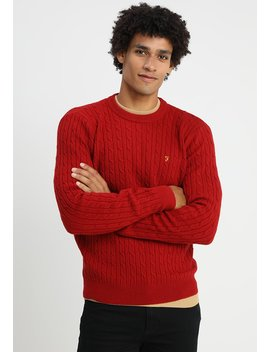 Moors Cable Crew   Strickpullover by Farah