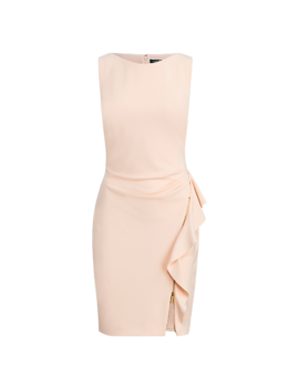Ruffle Trim Jersey Dress by Ralph Lauren