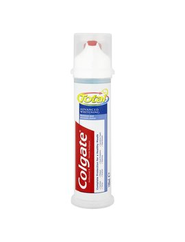 Colgate Toothpaste Pump Total Advanced Whitening  100ml by Wilko