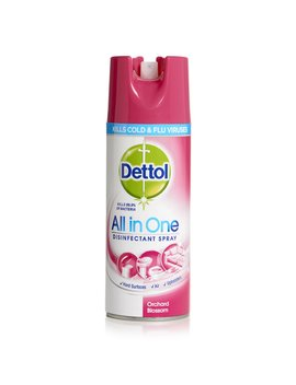 Dettol Disinfectant Spray Orchard Blossom         400ml by Wilko