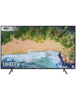 "Samsung Ue40 Nu7120 Hdr 4 K Ultra Hd Smart Tv, 40"" With Tv Plus & 360 Design, Ultra Hd Certified, Black by Samsung"