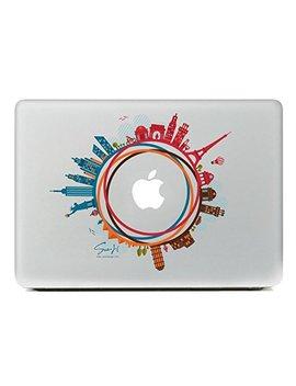 """Sue H Design Welt Symbolische Architekturen Für Macbook 13 """"Air / Pro / Retina by Amazon"""
