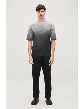 Gradual Print T Shirt by Cos