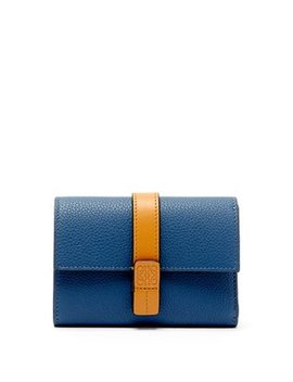 Compact Leather Wallet by Loewe