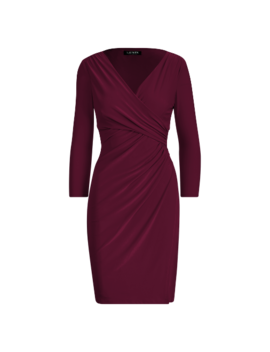 Surplice Jersey Dress by Ralph Lauren