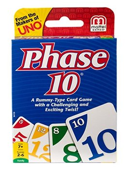 Phase 10 Card Game Styles May Vary by Mattel Games