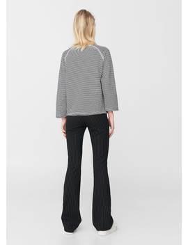 Gemustertes Baumwoll Sweatshirt by Mango