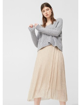 Strukturierter Pullover by Mango