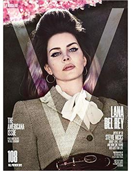 V Magazine Issue 108 (Fall Preview 2017) Lana Del Rey Cover by Amazon