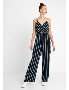 Chevron Stripe Strappy    Kombinezon by New Look