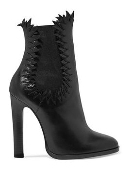 Leather Ankle Boots by AlaÏa