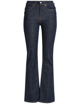 High Rise Straight Leg Jeans by Acne Studios