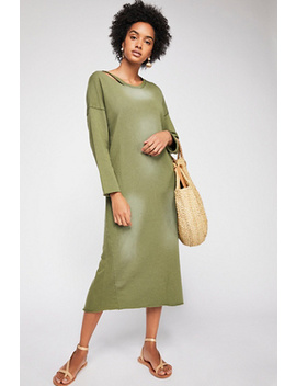 Cotton And Hemp Dress by Free People