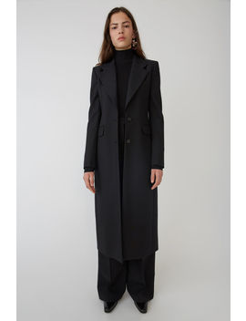 Wool Coat Black by Acne Studios