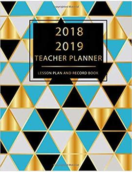 "Teacher Planner 2018 2019 Lesson Plan And Record Book: Gradebook For Teachers, Lesson Planner, Notebook Planner For Teachers, Record Attendance, Diary Journal School Academic 8.5"" X 11"" (Volume 2) by Amazon"