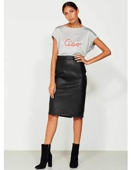 Black Pencil Skirt by Mint Velvet