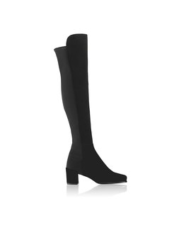 Mid Heel Over Knee Boot by Mid 50/50