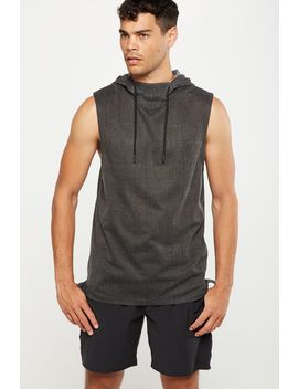 Coar Active Hooded Muscle by Cotton On