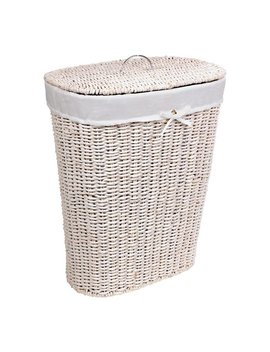 Argos Home 75 Litre Seagrass Laundry Basket   White by Argos