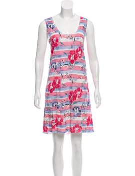 Chanel Floral Knit Dress by Chanel