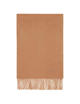 Mulberry Pure Lambswool Scarf, Salmon by Mulberry