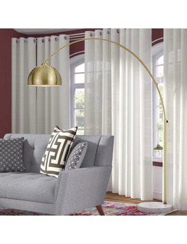 "Langley Street Valeria 73"" Arched/Arc Floor Lamp by Langley Street"