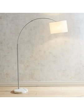 Marble Base Arc Floor Lamp by Pier1 Imports