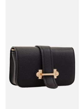 **Black Square Shoulder And Bumbag By Koko Couture by Topshop