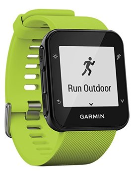 Garmin Forerunner 35 Gps Running Watch With Wrist Based Heart Rate And Workouts   Green (Limelight Green),010 01689 01 by Garmin