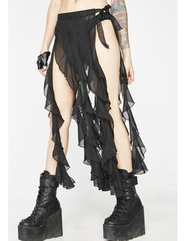 Fierce Femdom Ruffle Skirt by Western Fashion