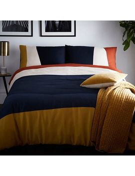 J By Jasper Conran   Multicoloured 'putney' Duvet Cover by J By Jasper Conran