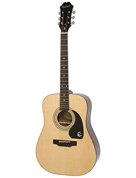 Epiphone Dr 100 Acoustic Guitar, Natural by D'addario